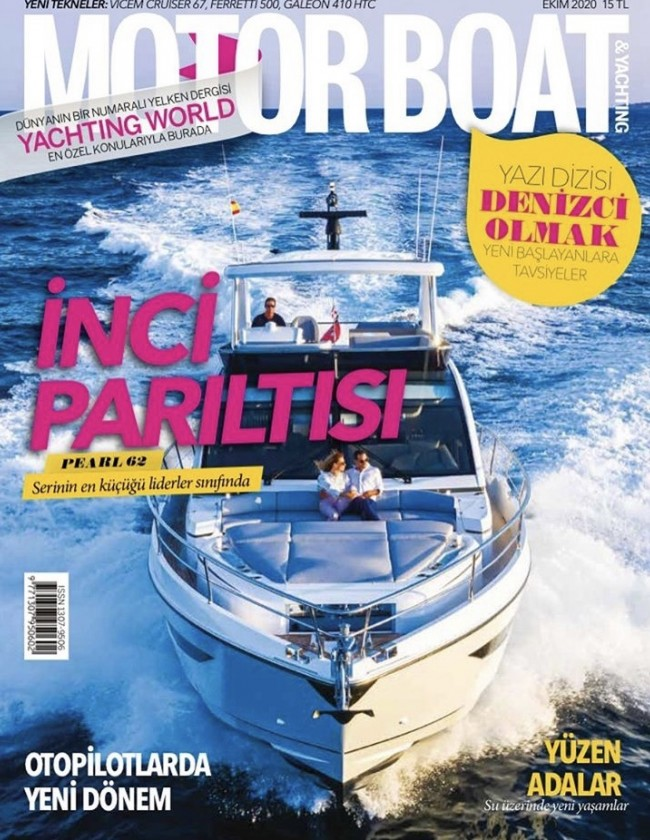 MB&Y Pearl 62 Cover & Boat Test October 2020