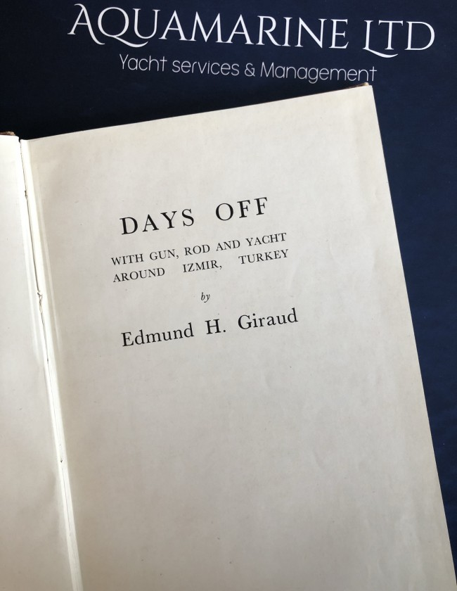 Days off Edmund G kitabı